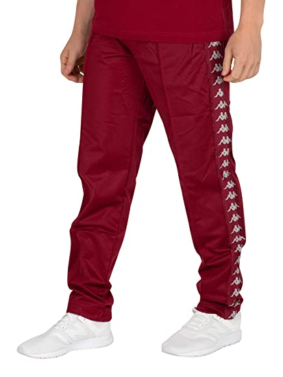 0be85751 Kappa Men's Astoria Slim Joggers, Red: Amazon.co.uk: Clothing
