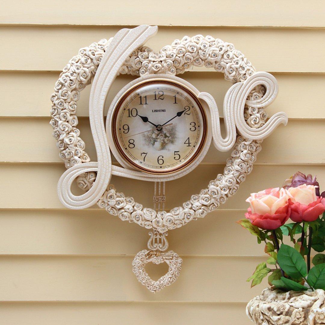 現代 時計 掛け時計 リビング おしゃれ 掛時計 壁掛け リビング 飾り SFANY B07FNFR913 タイプ1 タイプ1