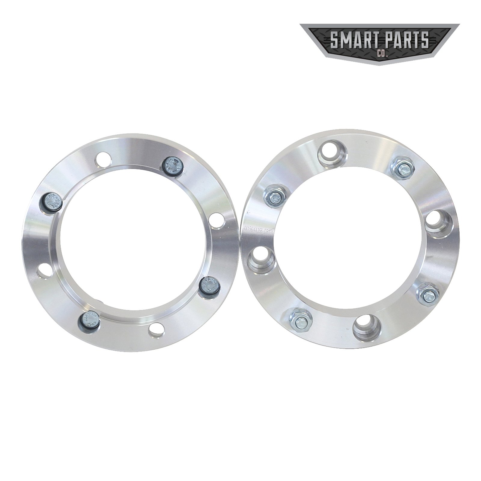 "4 ATV Wheel Spacers 4x156 – wheel spacer 1.50"" thick; I.D.=131mm; counter bore=141mm X 9.1mm deep; studs = M12x1.5 Polaris RZR Ranger by Smart Parts (Image #1)"