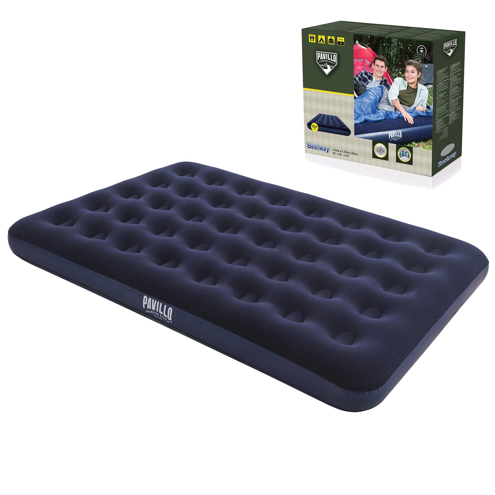 Bestway 67002 - Colchon flocado de camping doble, 191 x 137 x 22 cm product