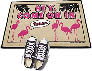 product image for Hey Come On in Flockers. - HIGH COTTON Welcome Doormat