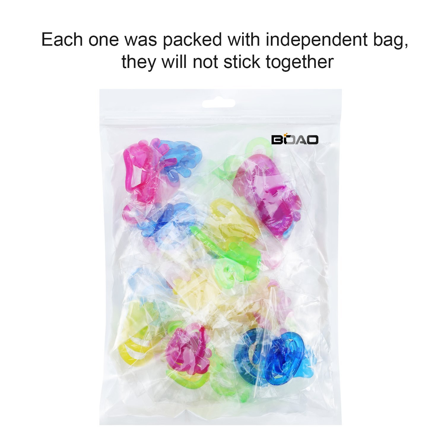 Boao 36 Pieces Multi Colors Vinyl Mini Sticky Hands Toys for Children Party Favors