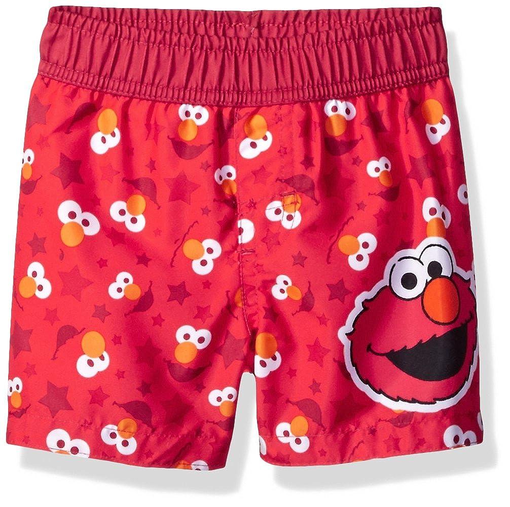 7ba29dc860 Sesame Street Baby Little Boys' Elmo Infant Swim Trunk, Red, 24M:  Amazon.in: Clothing & Accessories
