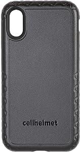 cellhelmet Fortitude Pro Series Onyx Black Dual Layer Phone Case for Apple iPhone XR  $300 Repair Guarantee   As Seen on Shark Tank   in Retail Package