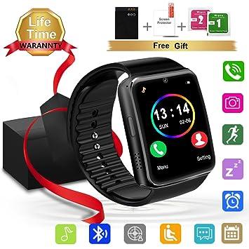 Herrenuhren 2018 Neue Edelstahl Bluetooth Smart Uhr Frauen Männer Sport Wasserdichte Smartwatch Led Farbe Touch Screen Uhr Unterstützung Sim Tf Digitale Uhren