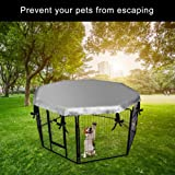 EXPAWLORER Dog Crate Cover for Outdoor and