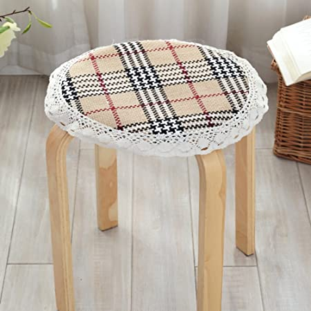 thickened seat cushions non slip round stool chair cushion winter rh amazon co uk Kitchen Chair Cushions for Chairs Target Kitchen Chair Pads Cushions