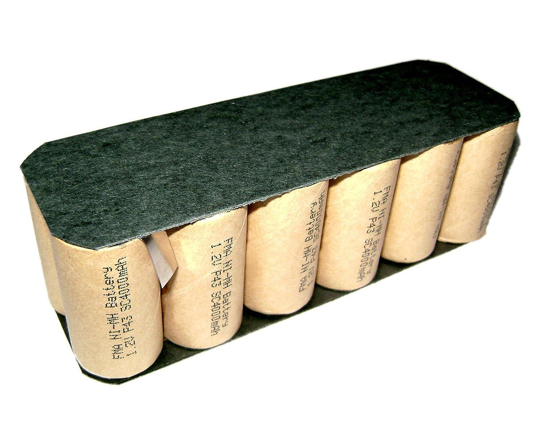 400 / 4905 BatteryサブC SC 14.4 V 4000 mAh充電式p16 B072BXQ68S