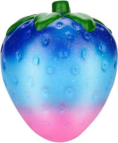 Squishy Fresas Galaxia Kawaii Squishys Grandes Con Olor Slow Rising Squeeze Juguetes AntiestréS: Amazon.es: Ropa y accesorios