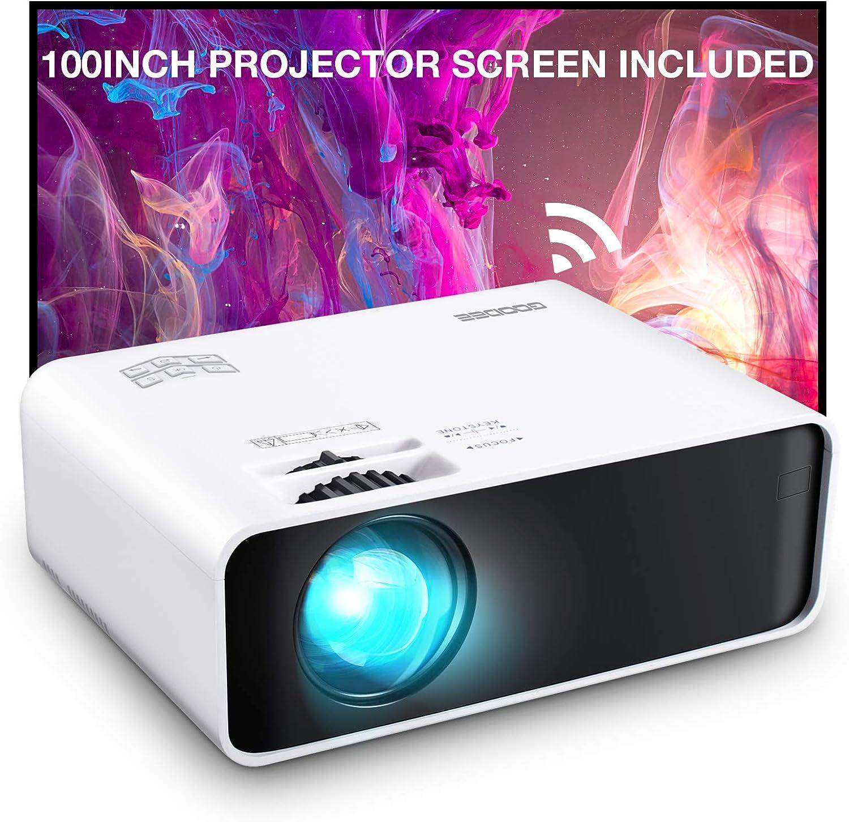 GooDee WiFi Mini Projector