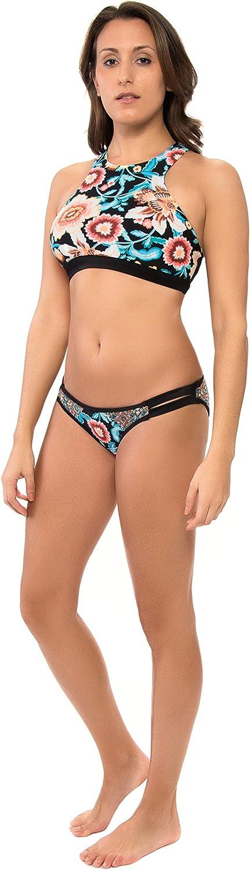 Body Glove Womens Ambrosia Spur Sports Bra Bikini Top