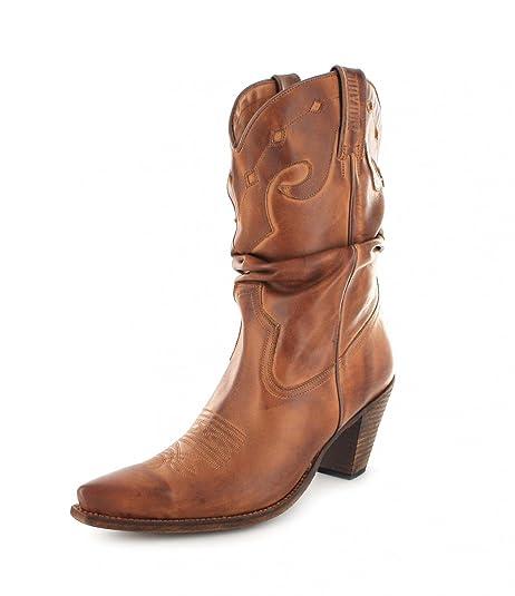 9a2c342e5f Mayura Boots 1952 - Botas De Vaquero de cuero mujer  Amazon.es  Zapatos y  complementos