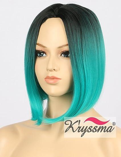 Kryssma CY036 - Peluca de pelo corto para cosplay, Halloween, peluca sintética