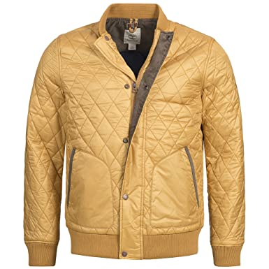 Timberland Clothing Hombre Chaqueta Acolchada Skye Peak Bomber, 6966J-205, Large: Amazon.es: Deportes y aire libre