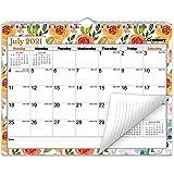 "CRANBURY Wall Calendar 2021-2022 - (Floral) 8.5x11"", Use Small Calendar to December 2022, as Desk Calendar or Hanging Monthly"