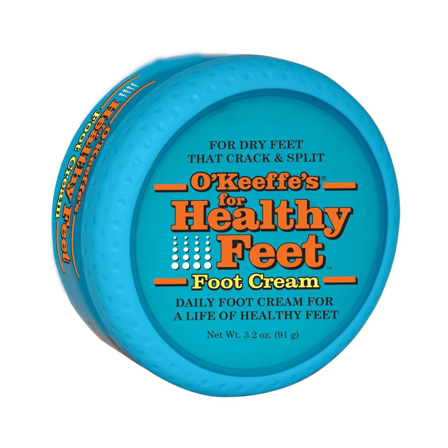 O'Keeffe's K03201 24 Pack 3.2 oz. Healthy Foot Cream