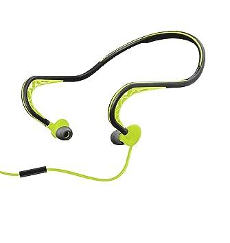 Trust Urban Ludo - Auriculares Deportivos con sujeción para el Cuello, Color Lima: Amazon.es: Electrónica