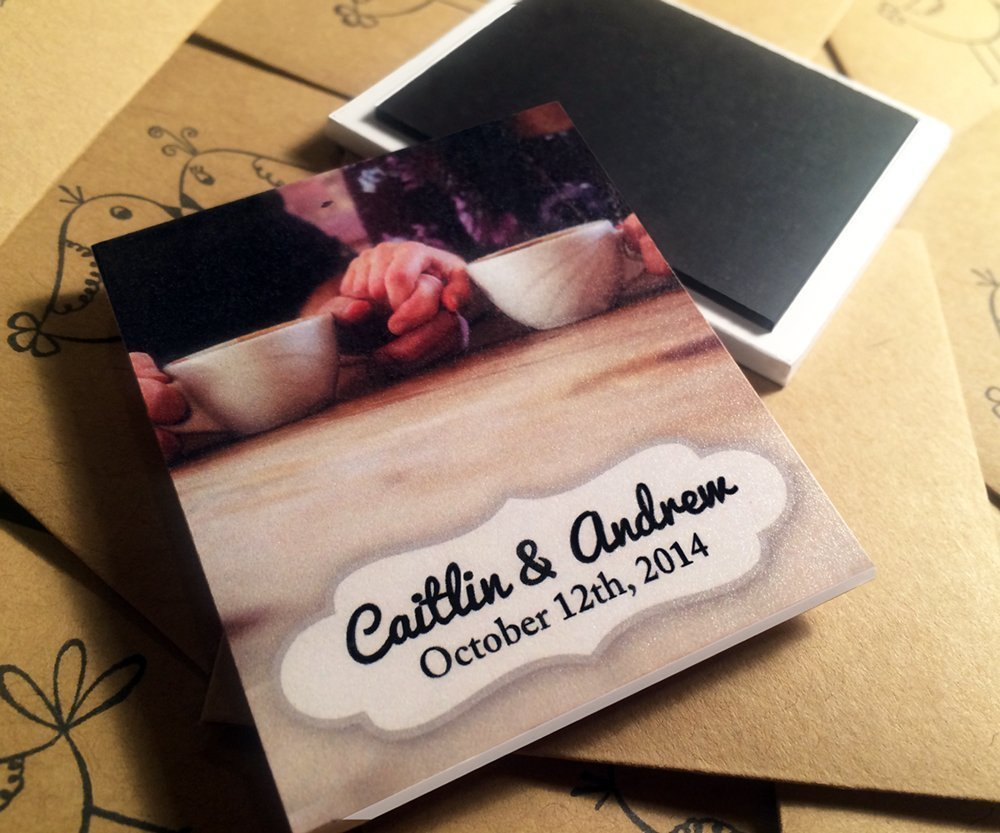 Amazon.com: 40 Handmade Save the Dates, Personalize with your Photos: Handmade