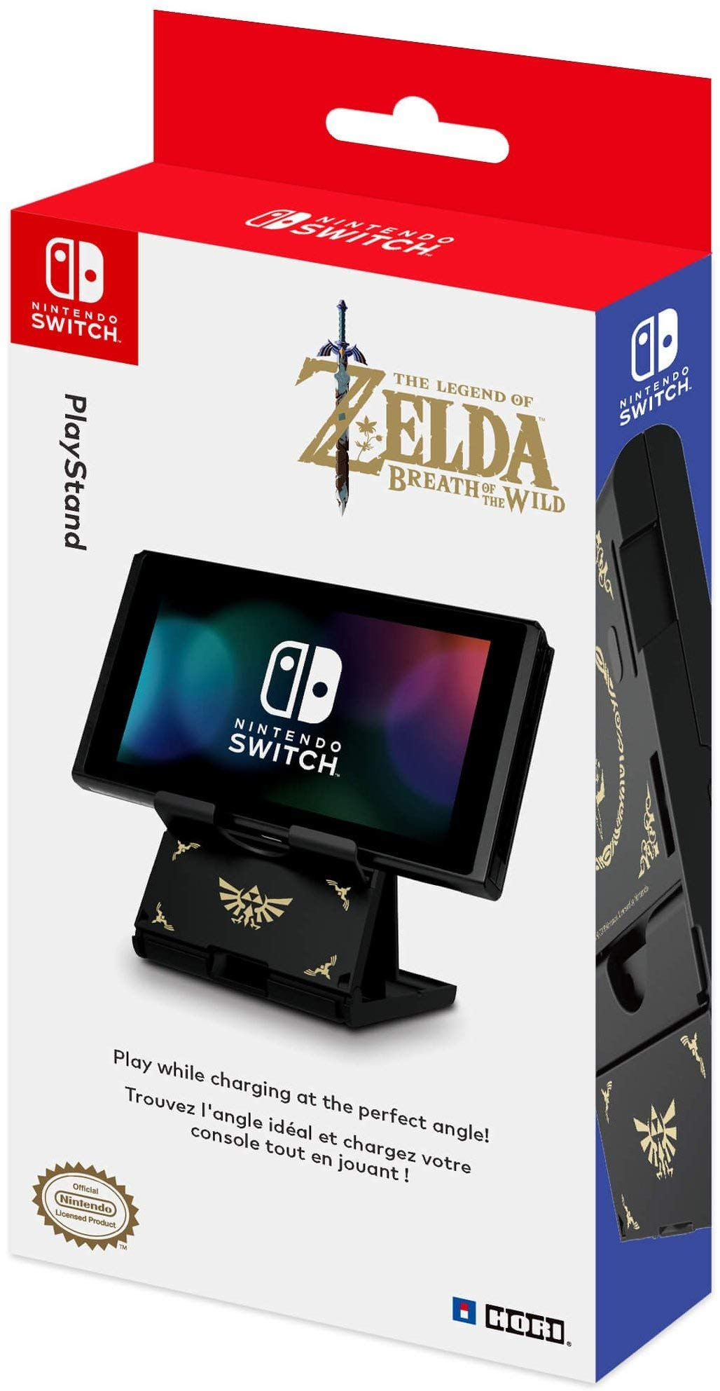 HORI Compact PlayStand - Zelda Edition, Officially Licensed by Nintendo - Nintendo Switch by Hori