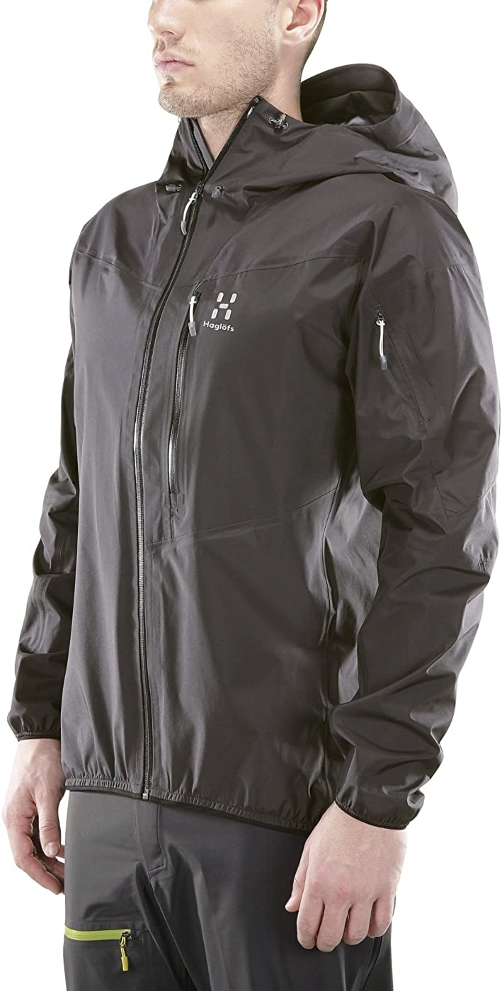 Colore Slate Haglofs Giacca in Goretex Active Touring Active Jacket Men Ardesia