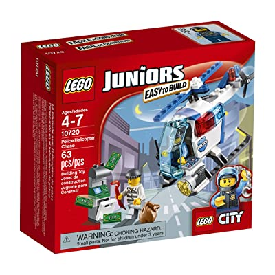 LEGO Police Helicopter Chase 10720: Toys & Games