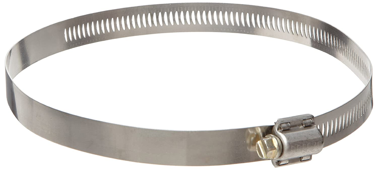 Pack of 10 4-1//8 to 7 Hose OD 9//16 Band Width Dixon HS104 Stainless Steel Worm Gear Clamp with SAE 1018 Case-Hardened Steel Screw