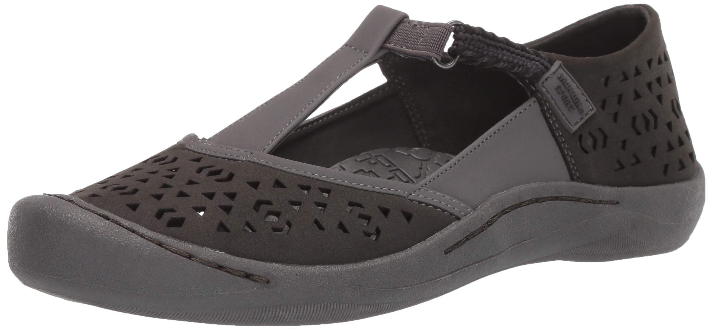 MUK LUKS Women's Women's Samantha Sport Shoe-Grey Sandal, Grey, 6 M US