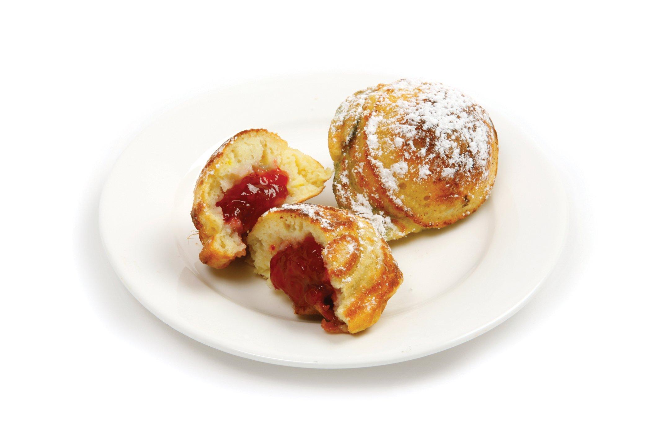 Norpro Nonstick Stuffed Pancake Pan, Munk/Aebleskiver/Ebelskiver
