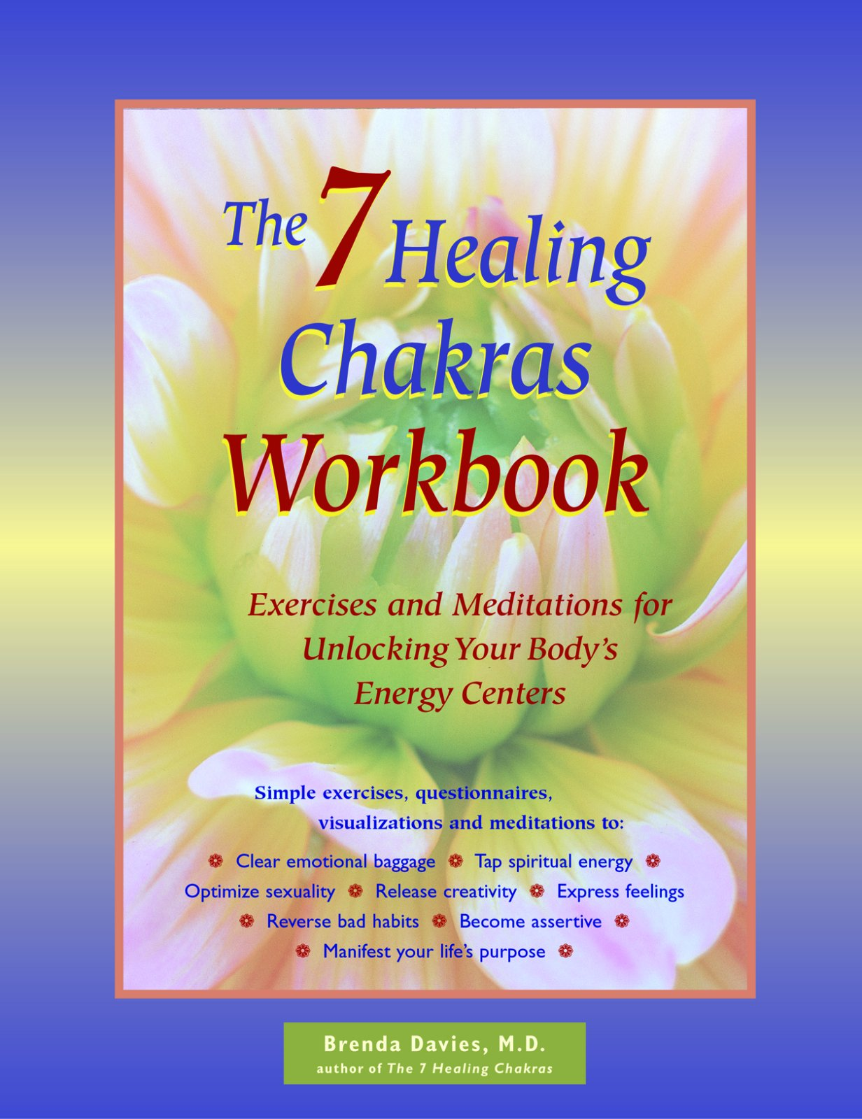 The 7 Healing Chakras Workbook: Exercises and Meditations for Unlocking  Your Body's Energy Centers: M.D. Brenda Davies: 9781569753675: Amazon.com:  Books