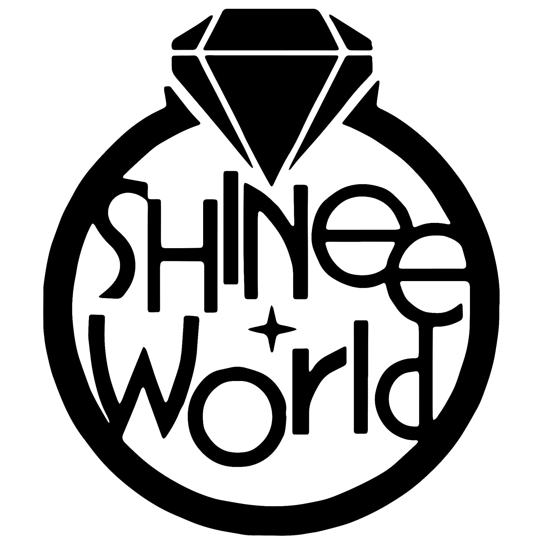 Shinee World Logo Car Vinyl Sticker