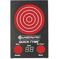 LaserLyte Trainer Target Quick TYME with 62 LEDs That Light up Shot Timer