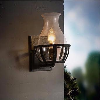 wandlampe Amerikanische Retro - Glasflaschen - Kunst ...
