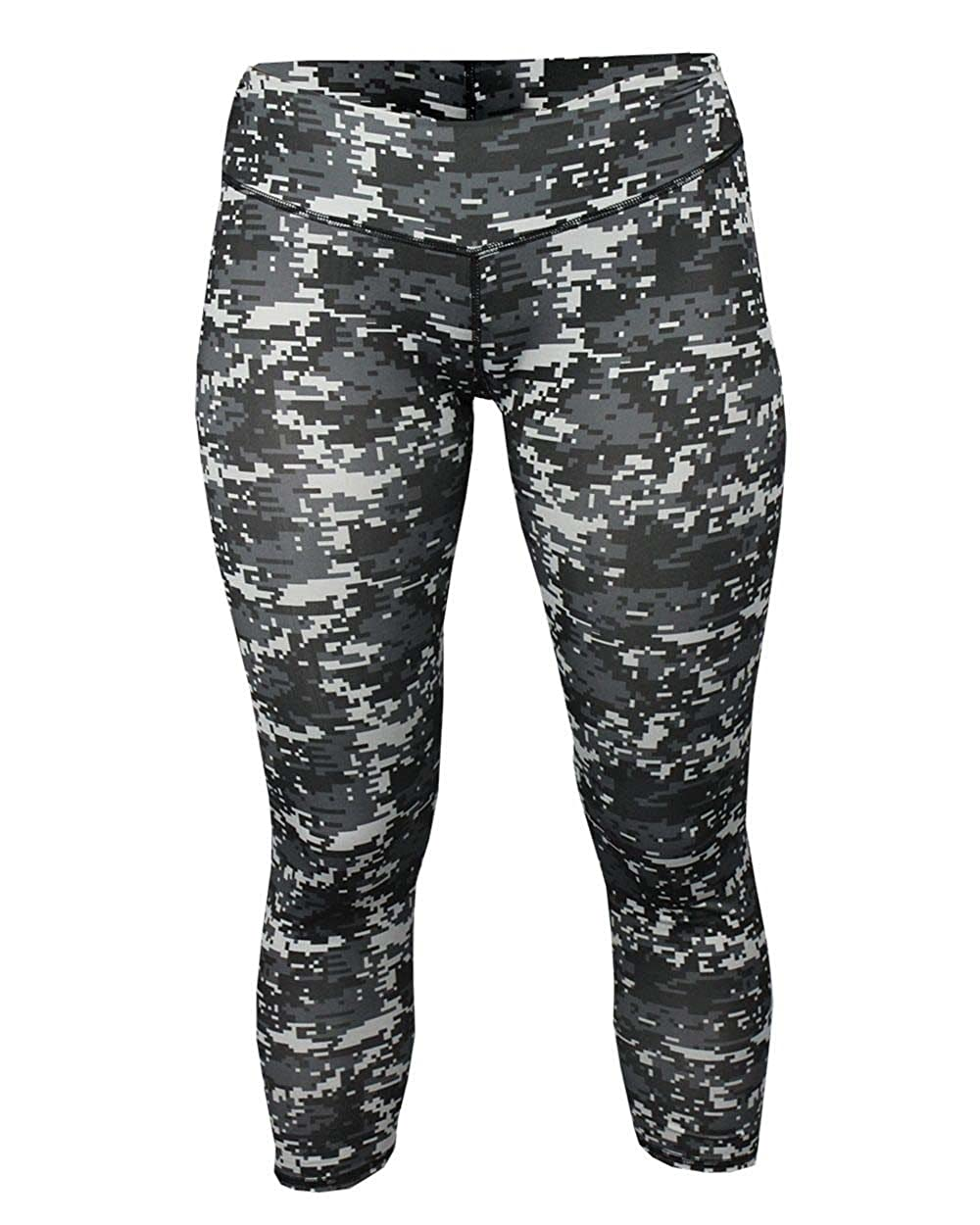 874a6587b54bdc Badger Womens Digital Tights (4619) -BLACK -XS at Amazon Women's Clothing  store: