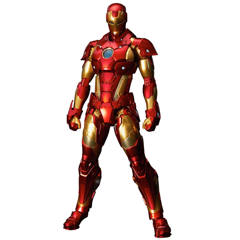 RE:EDIT IRON MAN #01 Bleeding Edge Armor(再販)ノンスケールPVC&ABS&ダイキャスト製塗装済み可動フィギュア B01N43MAIJ