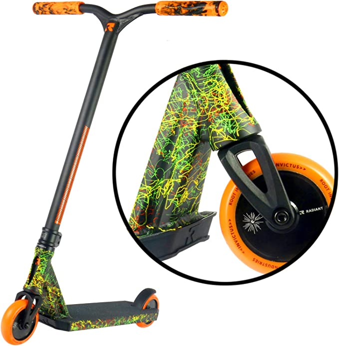 Invictus Complete Scooter - Stunt Scooters - Professional Scooter for any Age Rider - Pro Scooters for Kids Pro Scooters for Adults - Pro Scooter ...