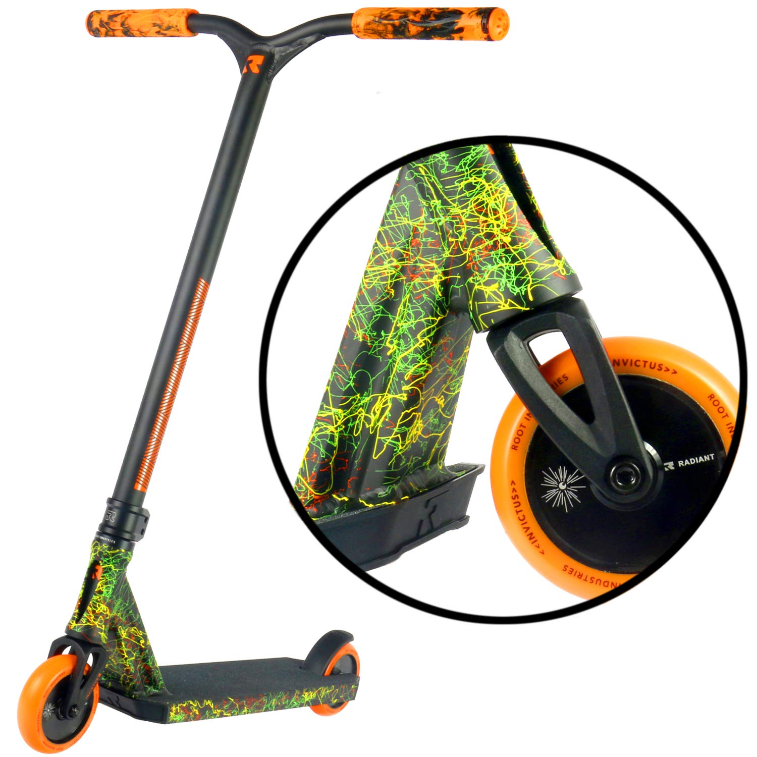 Invictus Complete Pro Scooter - Stunt Scooters - Perfect for Any Level Freestyle Riders - Pro Scooters for Kids - Quality Scooter Deck, Pro Scooter ...
