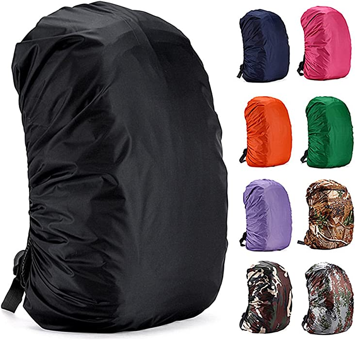 Easyhon 35L-80L Waterproof Backpack Rain Cover Rucksack Water Resist Cover  for Hiking Camping Traveling abea5c79dbf91