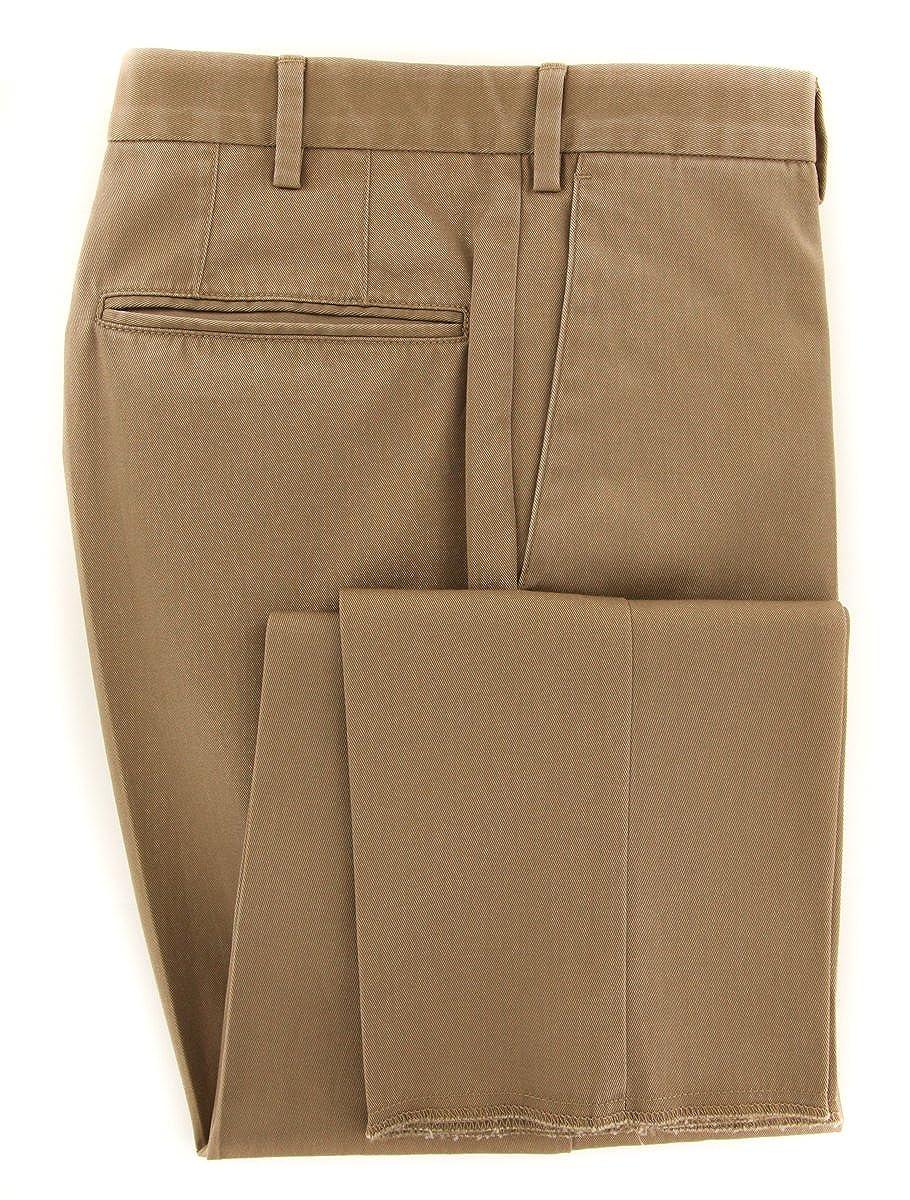 Slim Incotex Beige Solid Pants