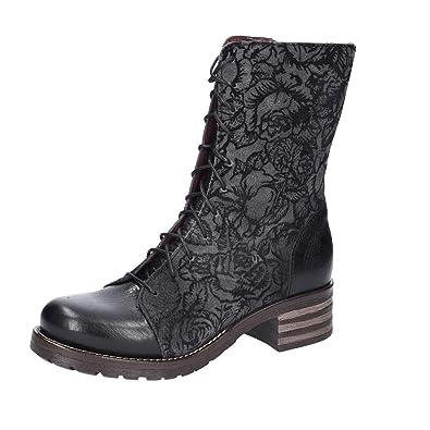 Brako Damen Stiefel 8470 Negro schwarz 325701: