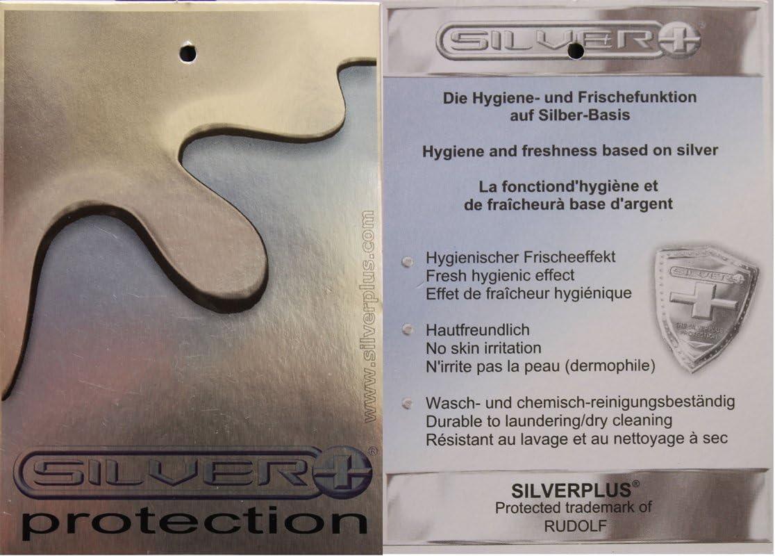 Premium Silver /& Fresh Medico Seamless Hombre Profesional Unterhemd