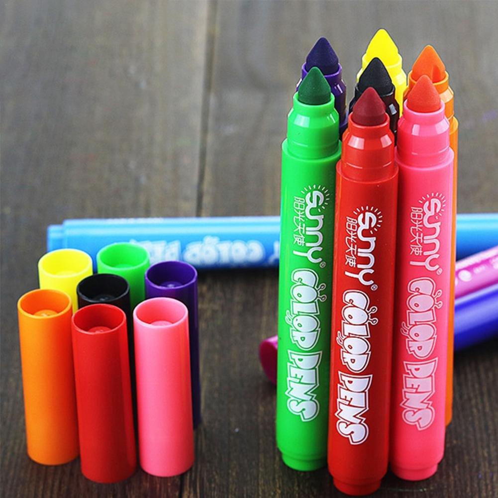 Graffiti pen Marcadores De Tiza Rotuladores de Tiza Líquida Chalk Markers Rotulador Chalkboard Erasable No tóxico Protección ambiental Water Based Liquid ...