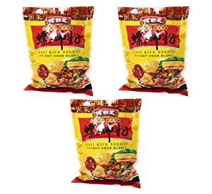 Lo King Food Luosi Rice Noodles (3 Pack, Total of 840g)