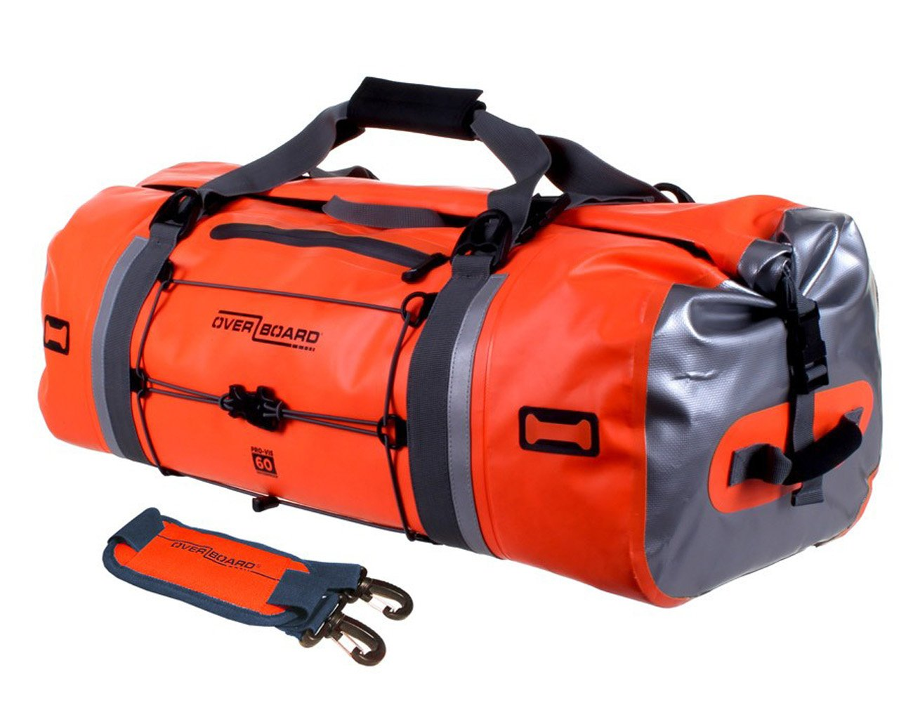 Amazon OverBoard Waterproof Pro Vis Duffel Bag Orange 60