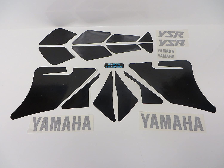 Upper /& Lower Cowling Decal Graphics Yamaha YSR 50 80 YSR50 YSR80 White
