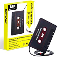 Westgo Audio Aux Cassette Adapter-Car Cassette Adapter-Audio Cassette Player-Retro and Vintage Cassette Adapter
