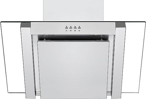 Campana extractora en ángulo ANG705SS de Cookology, 70 cm en acero inoxidable: Amazon.es: Grandes electrodomésticos