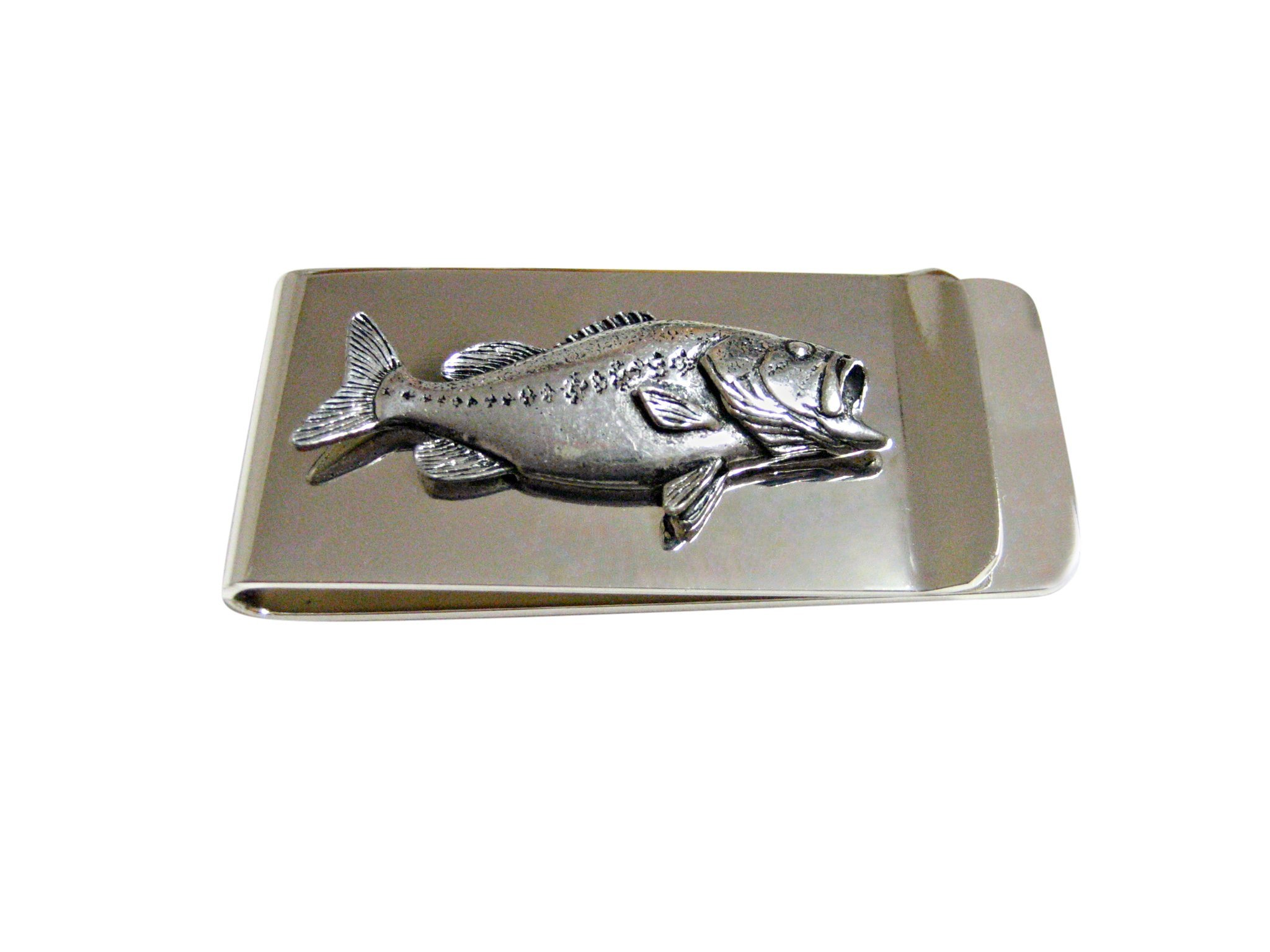 Bass Fish Money Clip
