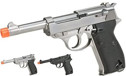 Amazon com : Evike - WE Heavy Weight P38 Airsoft Gas Blow