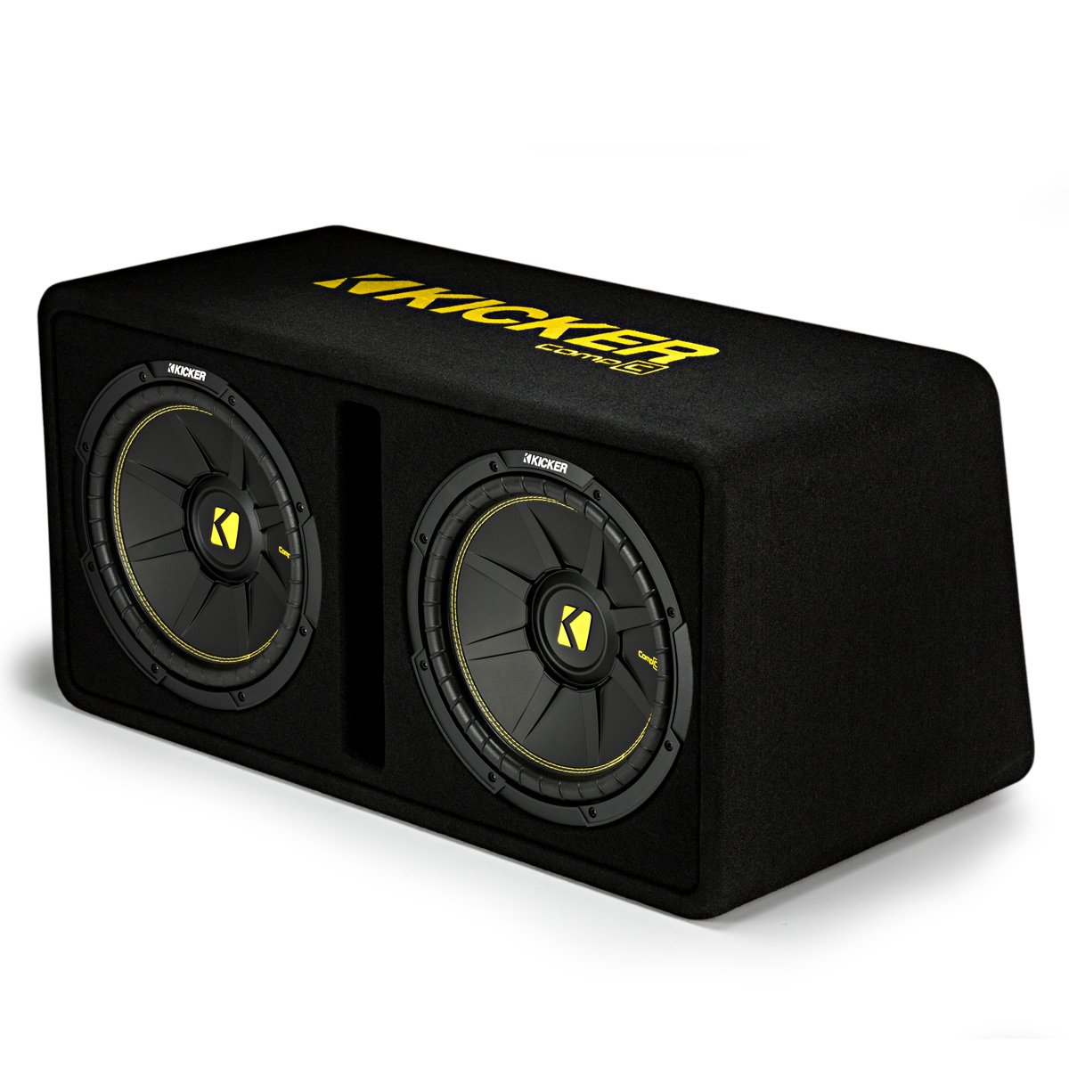 Kicker Dual 12-Inch 1200 Watt 2 Ohm Vented Loaded Subwoofer Enclosure, 44DCWC122 by Kicker (Image #3)
