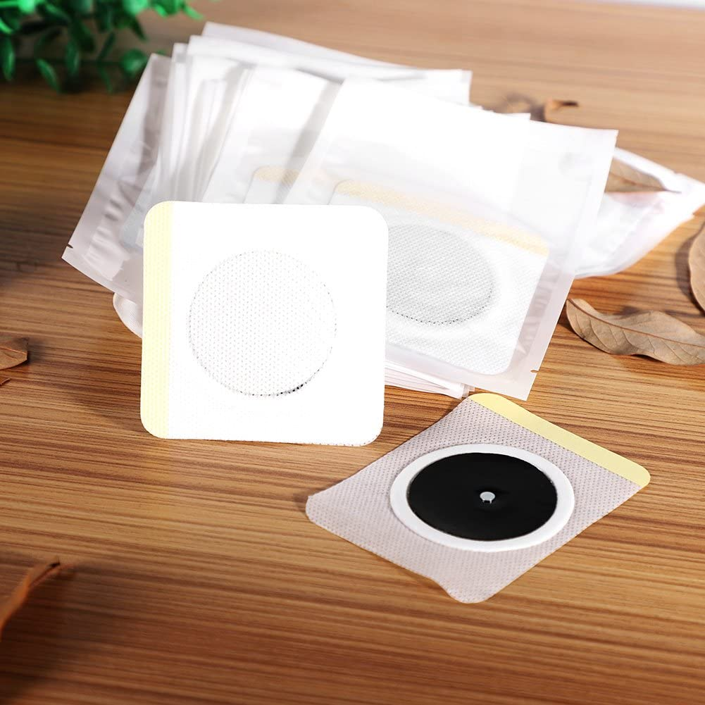 100 pcs Slimming Patch Weight Loss Sticker Fat Burning Abdominal Fat Away Sticker for Beer Belly Buckets Waist Waist Abdominal Fat Quick Slimming
